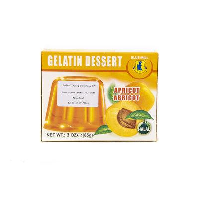 Blue Mill Jelly Dessert Abrikozen 85 Gram