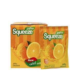 Squeeze Poeder Drank Sinaasappel 12x35 Gram