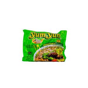 Yum Yum Instant Noedels Groente 55 Gram voorkant