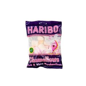 Haribo Marshmallows 70 Gram Wit & Rozen