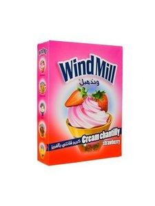 Windmill Slagroom Poeder Aardbei 130 Gram