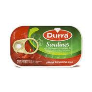 Durra Sardines Scherp 125 Gram